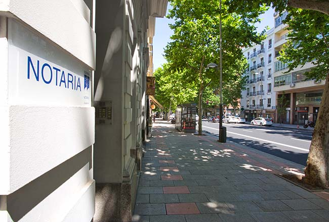 Notaría Madrid: El Acta de internet